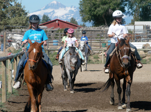 Take horseback riding lessons today at Diane's Riding Place - Bend, Oregon